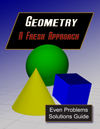 Geometry Even Answers & Solutions Manual